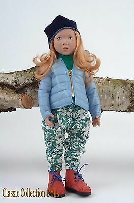 """""""janka"""" Junior Doll By Zwergnase- 2015 Collection - 20""""- New- In Stock Now!"""