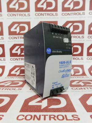 Allen Bradley 1606-XLSDNET8 DeviceNet Power Supply 24VDC 8A 100-240VAC - Used...