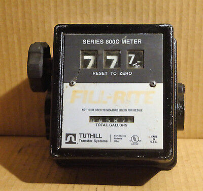 Tuthill Fill-Rite Series 800C Meter *Free Shipping*