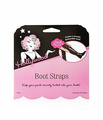 Hollywood Boot Straps Fashion Smooth Tucked-in Look One Size Fits Most 0 0