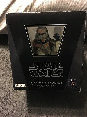 Gentle Giant Star Wars Utapau Airborne Trooper Bust Star Wars Shop Exclusive