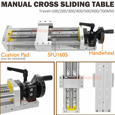 CNC Electric Sliding Working Table SFU1605 C7 Ballscrew Linear Motor Stage XYZ