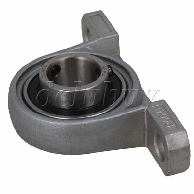 2pcs 20mm Bore Diameter Pillow Block Zinc Alloy Mounted Ball Bearing Support