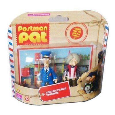 Postman Pat & Mrs Goggins SDS 2 Figure Collectable Twin Pack Figures - New