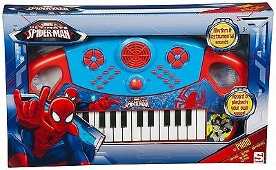 Children Kids Marvel Spiderman Theme Piano Musical Instrument Early Learning Toy