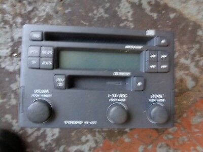 Volvo S40 4Dr 1.8 2001 Cd-Tape Radio Player With Code
