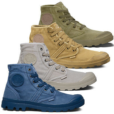Palladium Mens Shoe Pallabrouse New Designer Walking High Top Canvas Ankle Boots