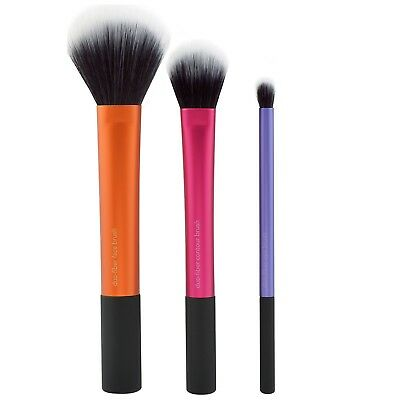 Real Techniques Gifts and Sets Duo Fibre Brush Collection for women