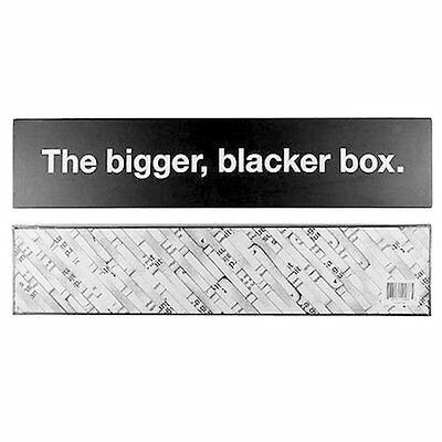Bigger Blacker Box Hard Storage Case for Cards Against Humanity - BOX ONLY