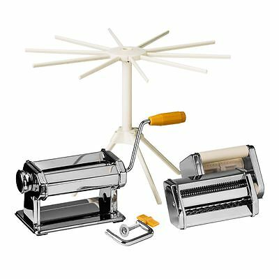 Premier Housewares Multi Pasta Maker Set, Chrome