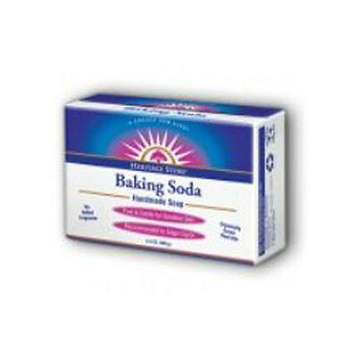 Baking Soda Bar Soap 3.5 oz by Heritage Products