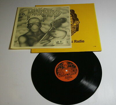 Pink Floyd – Live At Pompeii LP – J. Fish Artwork – Instant Analysis – RARE