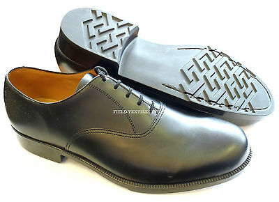 British Army Black Working Smart Shoes Without Toe Cap - Size 11.5M - New In Box