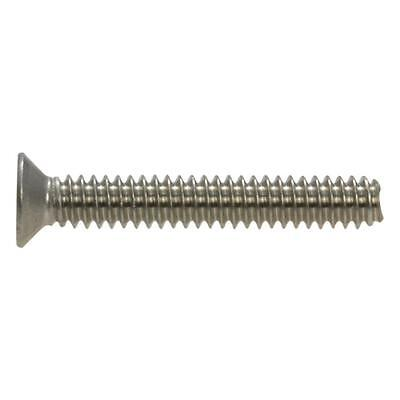 Countersunk Phillip Machine 6-32 UNC Imperial Coarse Screw BSW Stainless G304