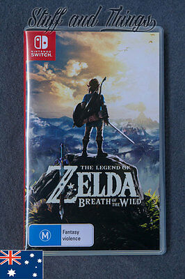 The Legend of zelda: Breath of The Wild - Nintendo Switch Game - Aus Stock
