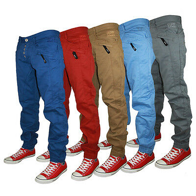 Sale!! Kids Boys Junior Designer Zico Cuffed Chinos Waist Size 24 25 26 27 28 29
