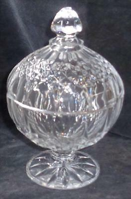 Longchamp™ Lead Crystal Covered Footed Candy Dish - BRAND NEW IN BOX - PRETTY