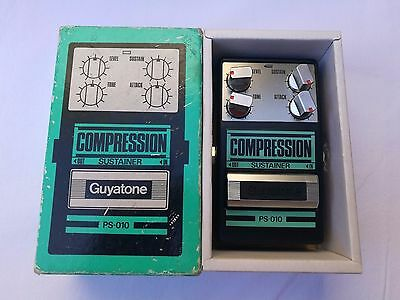 Vintage Guyatone Ps-010 Compression Sustainer  - Free Next Delivery Day Uk