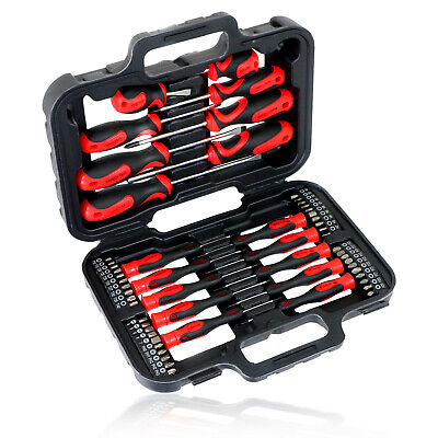 Mechanics Screwdriver & Bit Tool Kit Set Precision Phillips Torx  Pozi Slotted