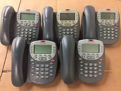 Avaya 4610SW IP Office VoIP Business Telephone LOT of 5