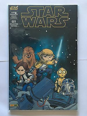 Panini Comics Star Wars 1 001 Mai 2015 Variant Collector Skottie Young 700 Ex