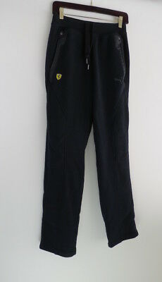 Puma Ferrari black sweatpants XS