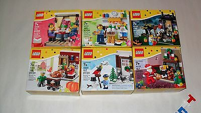 Choice LEGO New Sealed Sets 2015 Seasonal 40120 40121 40122 40123 40124 40125