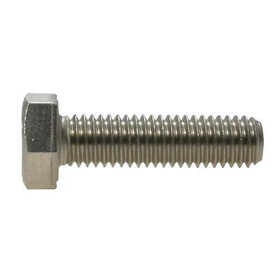Hex Set Screw M10 (10mm) Metric Coarse Bolt Stainless Steel G304