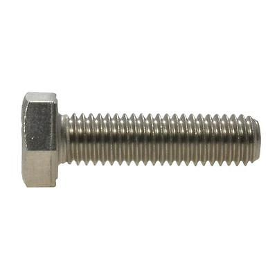 Hex Set Screw M8 (8mm) Metric Coarse Bolt Stainless Steel G304