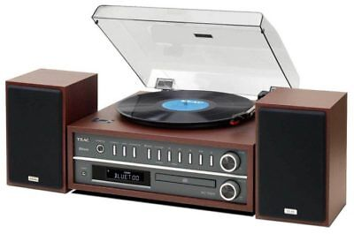 TEAC MC-D800 Music Centre USB,Record Player AM/FM Radio CD & Bluetooth Hi-Fi