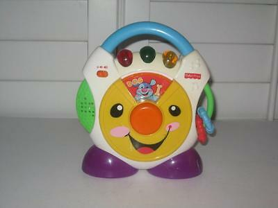 Fisher Price Cd Nursery Rhymes Lights Music Sounds Laugh & Learn Nursery Rhymes