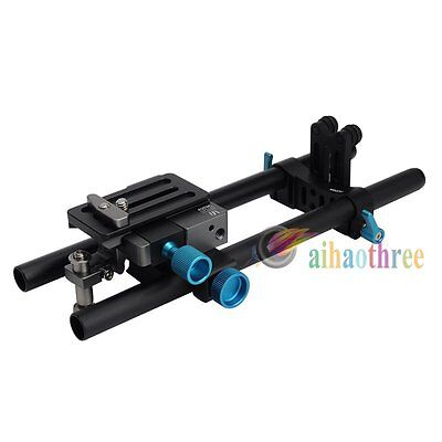FOTGA DP500III Quick Release 15mm Rod Rail Baseplate Rig For Camera Follow Focus