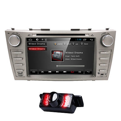 Camera+ Android 6.0 Car Stereo DVD Player Bluetooth GPS for Toyota Camry Aurion