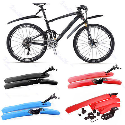 Mountain MTB Cycling Bike Bicycle Mudguards Fender Front & Rear Mud Guards Set