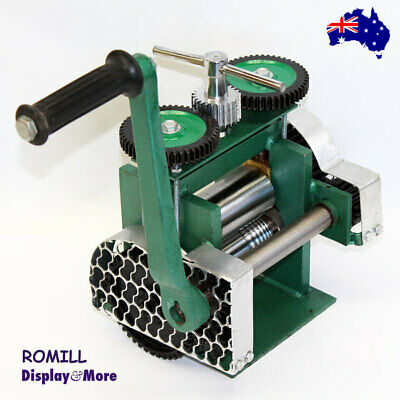 RELIABLE Jewellers Manual ROLLING Mill | Flat SQUARE Half Round | AUSSIE Seller