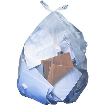 "Heritage Clear Linear Low-density Bags - 45"" Width x 30"" Length - Low..."