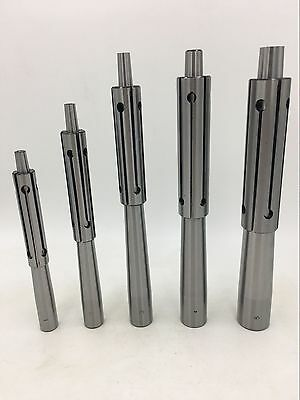 "Precision Expanding Mandrel Set 1/2""-1"", 5 mandres & 5 sleeves"