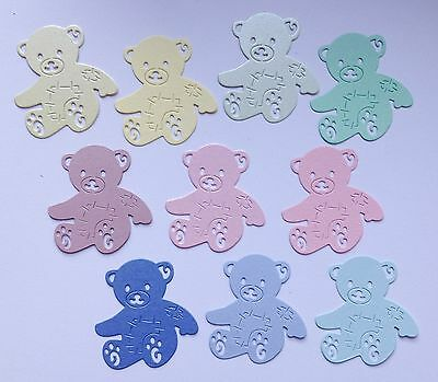 Tattered Lace Teddy Bear Die Cuts - Baby Colours