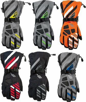 Arctiva Mens Ravine Insulated Textile Snowmobile Gloves