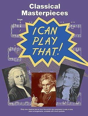 Classical Pieces Easy Piano Sheet Music Book Classics Mozart Bach Songs Tunes