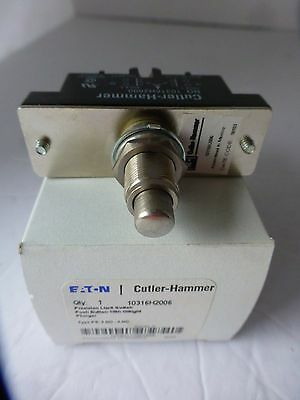 Cutler Hammer Precision Limit Switch 10316H2006 Type Ps