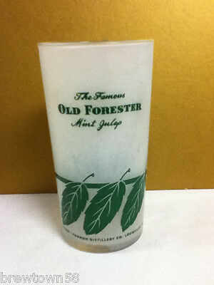 Old Forester The Famous Mint Julep 100 proof 1 cocktail drink drinks glasses OB9