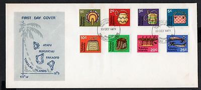 Tokelau Islands 1971 Definitive Cover