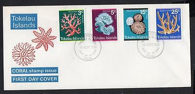 Tokelau Islands 1973 Corals FDC