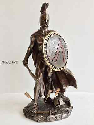 Leonidas Spartan King with Sword & Shield Statue Sculpture - WE SHIP WORLDWIDE