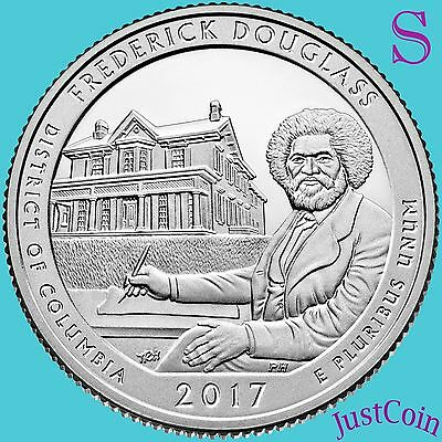 2017-S Frederick Douglas Historic Site (D.c.) Quarter Uncirculated