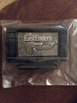 1/12th Dolls House Miniature Modern Television TV Eastenders With Remote NEW