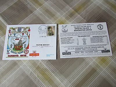 CRYSTAL Palace v MANCHESTER United 1990 FAC Final Rply FOOTBALL First Day Cover