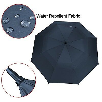 Extra Large Golf Umbrella Canopy Automatic Open Windproof Waterproof Outdoor New
