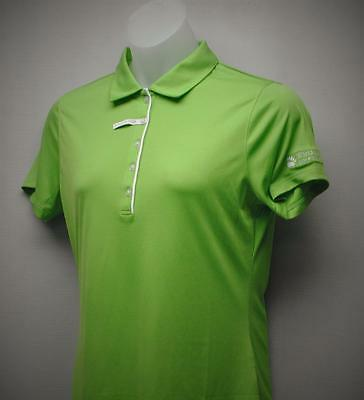 New Ladies LARGE short sleeve Cutter & Buck Darcy Dry Tec golf polo shirt